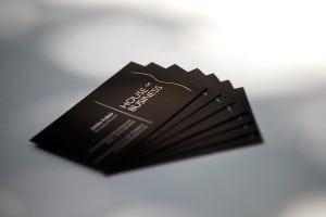 hob business cards