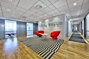 lounge i kontorhotell