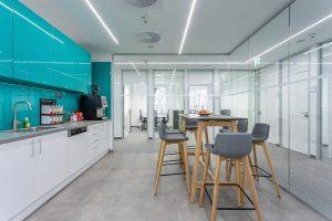 Bank Center Irodaház - Étkező