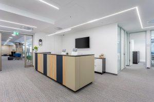 Bank Center Irodaház - Recepció
